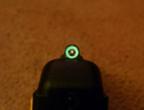 Ghost Ring Sights Installed
