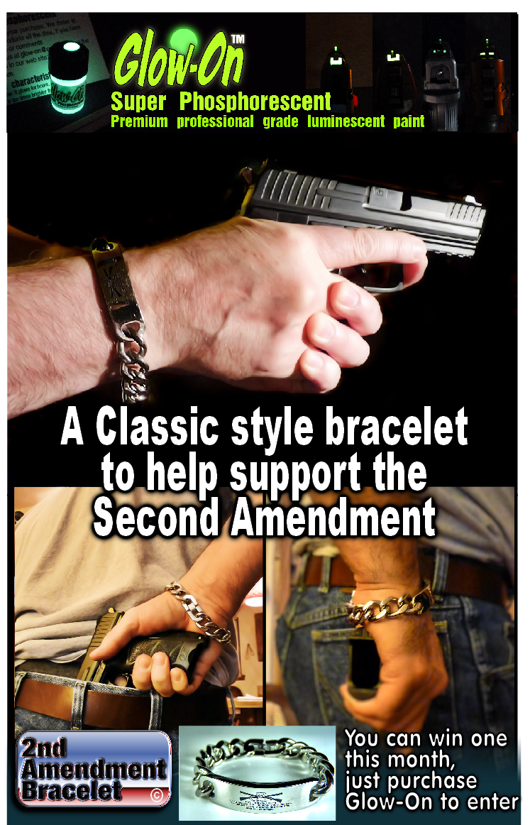 2Nd Amendment Quotes One Free Steel Second Amendment Bracelet Every Month  Springfield