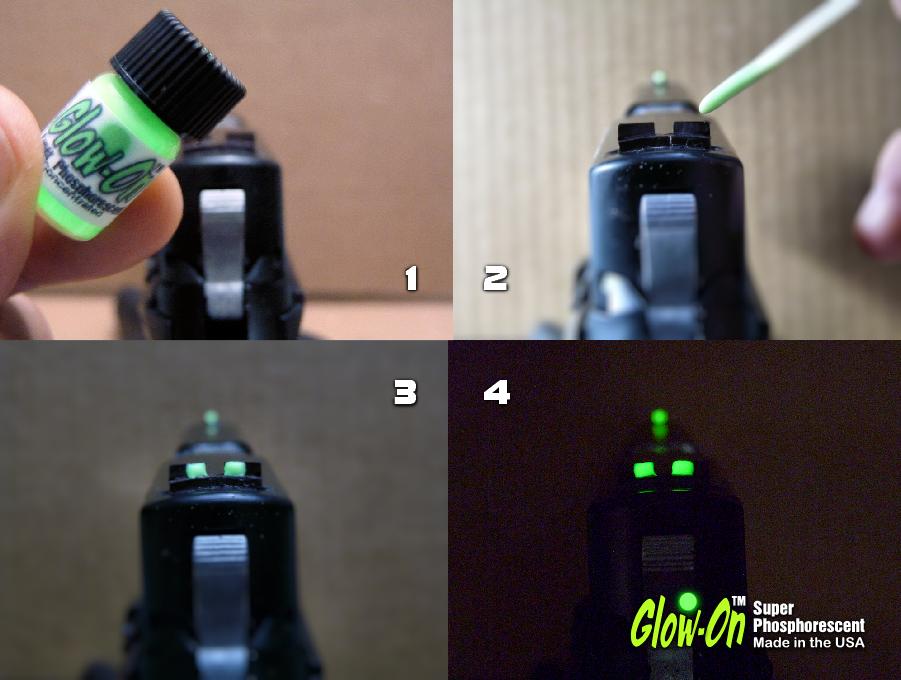 Glow On Super Phosphorescent 1 Gun Sights Paint Page 10